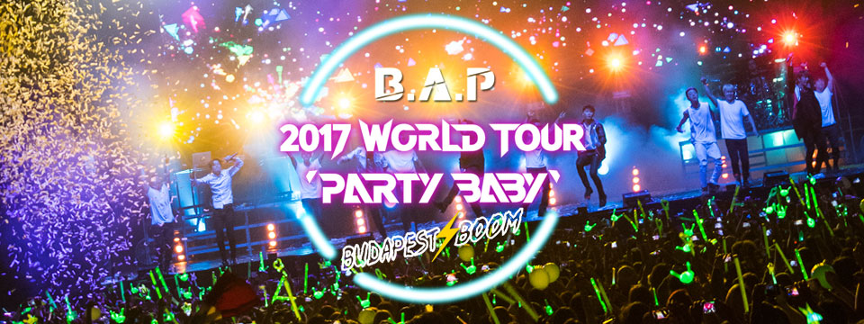 B.A.P - Crazy Party Ticket