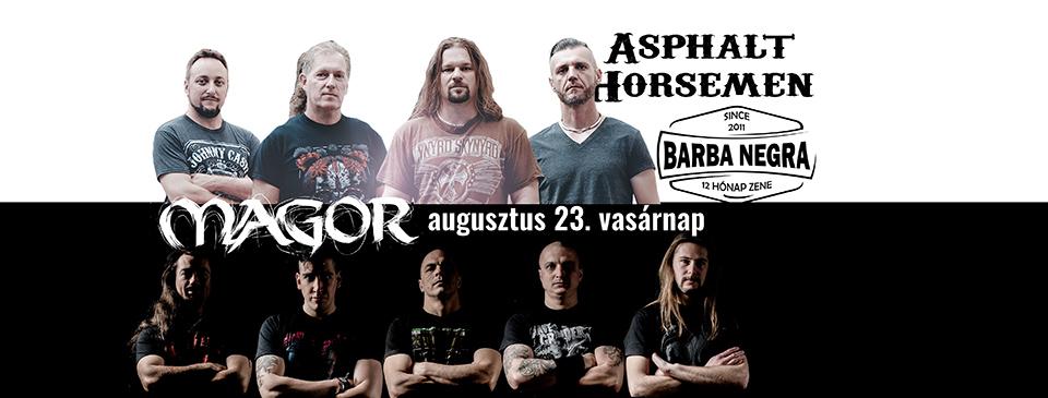 Magor   Asphalt Horsemen