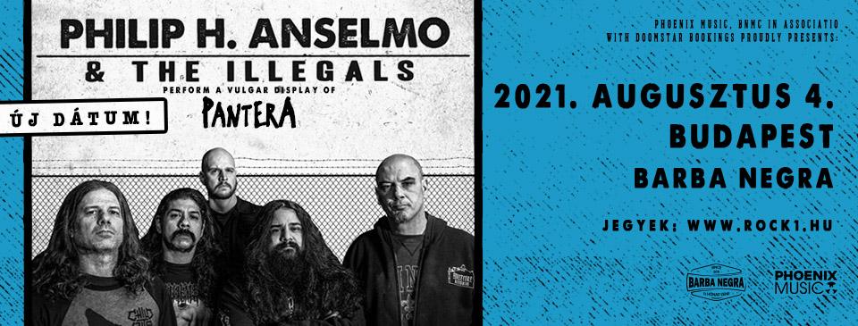 Philip H. Anselmo & The Illegals - Perform a Vulgar Display of Pantera