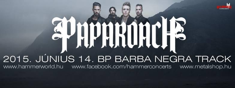 Papa Roach a Barba Negre Trekben!