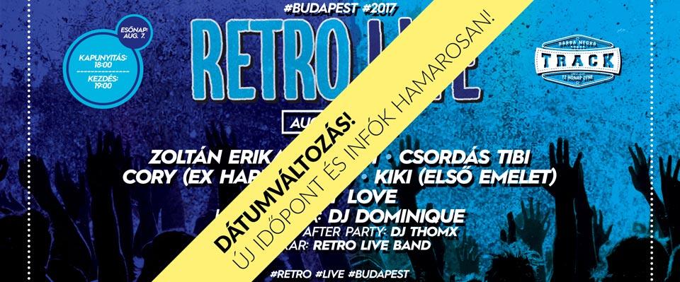 RETRO L!VE - Budapest