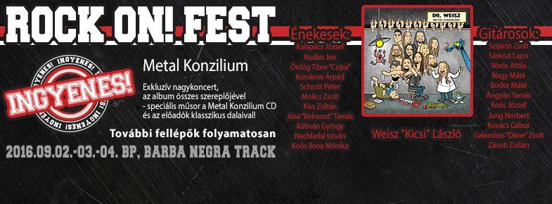 Rock On! Fest 2016