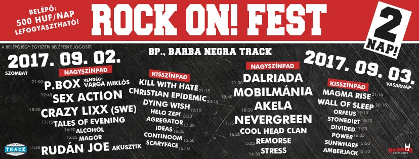 IV. Rock On! Fest 2017