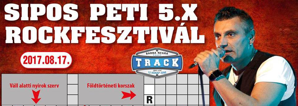 Sipos Peti 5X Rockfesztivál